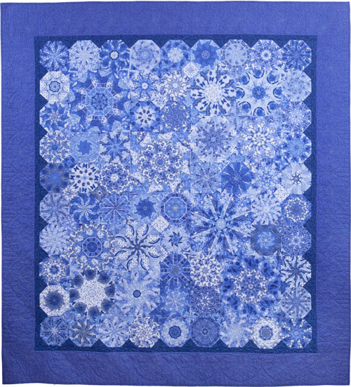 Ode to Spode quilt by Dawn White of First Light Designs
