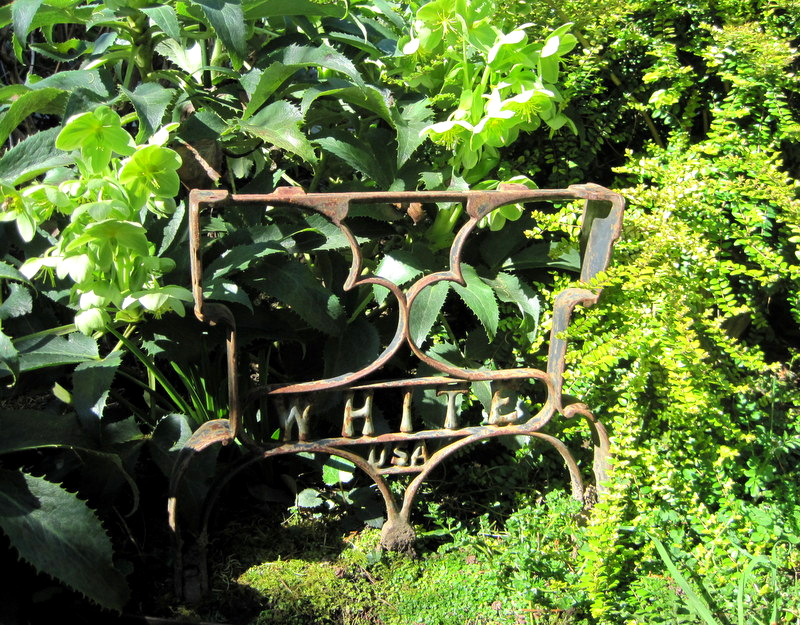 2012-3, wrought iron garden art