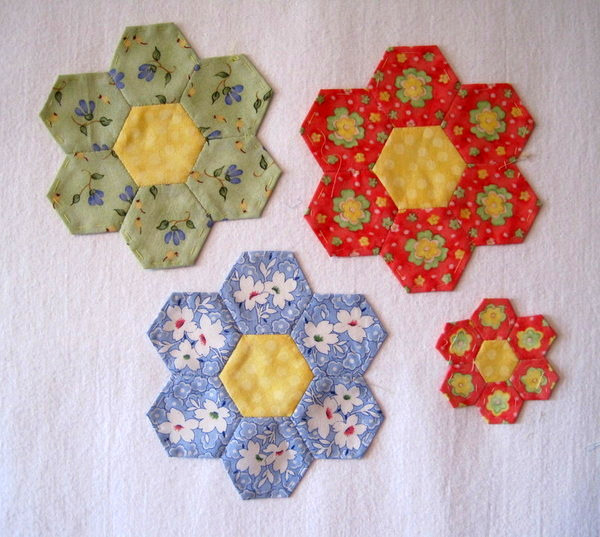 hexies big and small