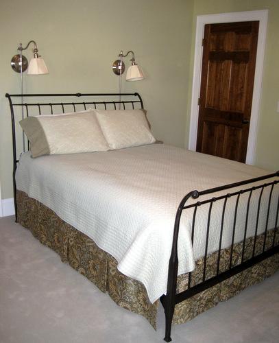 new pleated bedskirt