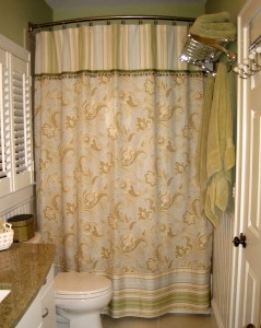 shower curtain embellishment