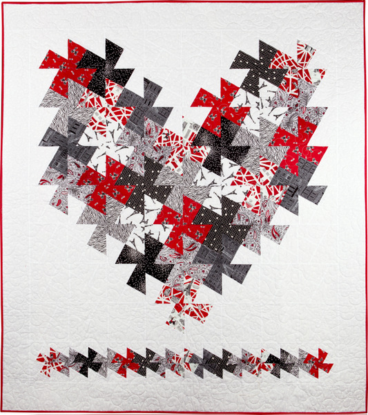 "I Love Paris, 58"" x 64"" (2011)"