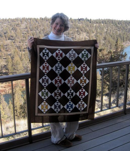 Deborah with Crosses and Losses 31 x 37-001