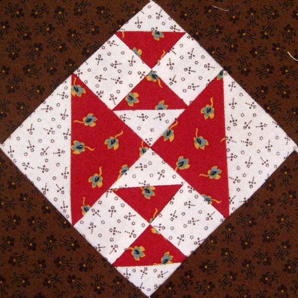Deborah's block, Crosses and Losses, 4 inches