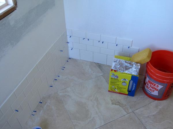 Week 6, tile in corner