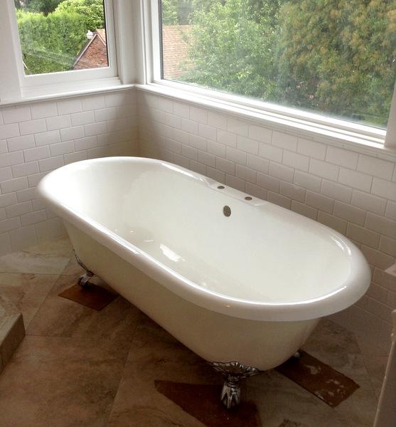Week 9, clawfoot tub