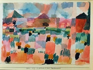 paul klee st germain near tunis 1914