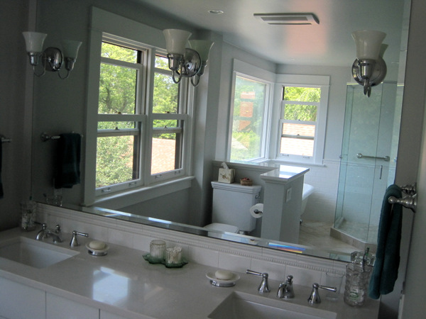 Week 12, light fixtures and mirror 2