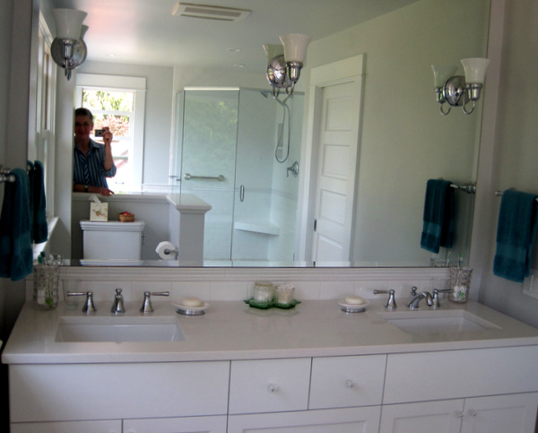 Week 12, light fixtures and mirror