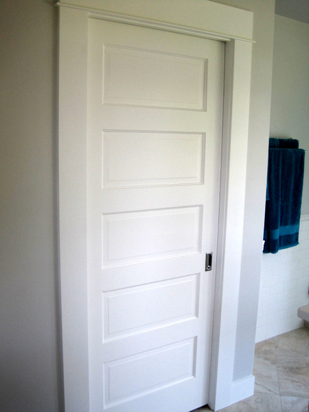 Week 12, pocket door