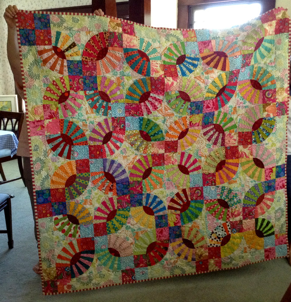 6-13 Lee's Pickle Dish quilt
