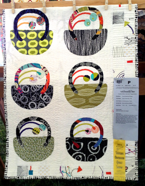 Contemporary Totes, 24 x 32, by Tonye Belinda Phillips of Camp Sherman OR