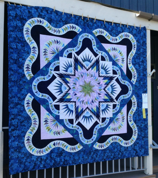 Glacier Star by Pam Nichols of Powell Butte OR, 98 x 98