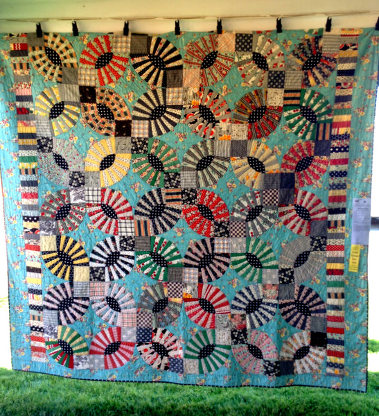"Gypsy Kisses (92"" x 103"") by Kathy Doughty of Sydney NSW"