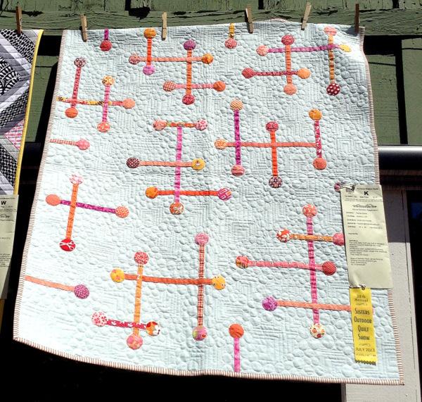 Sticks and Stones, 36 x 42, by Rachel Kerley of Hillsboro OR