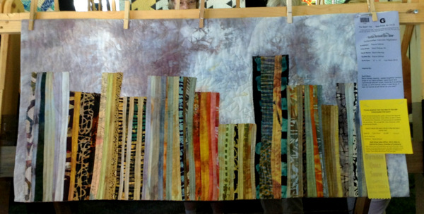 Storm Warning, 20 x 40, by Rayna Gillman of West Orange NJ
