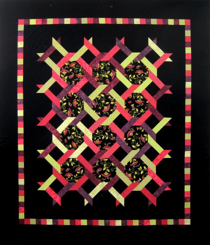 2013-9, Square Dance top 57 x 67