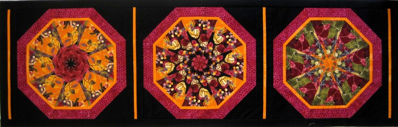 2013-10, kaleido table runner 1