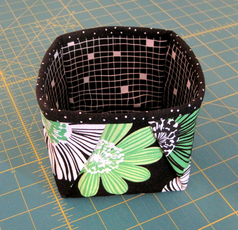 2013-10, little fabric box