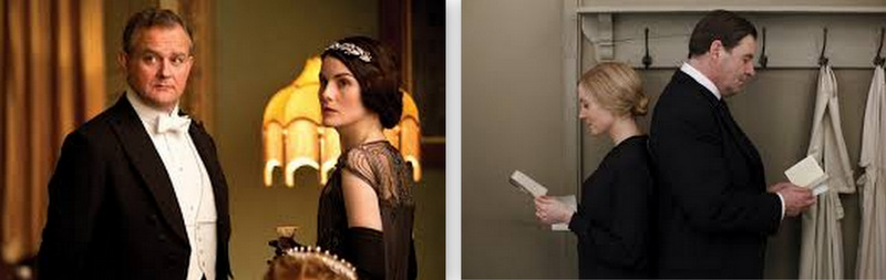 downtown abbey collage