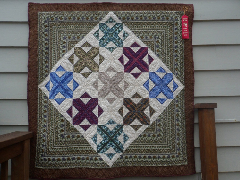 Jennifer T's quilt Lady Guinevere