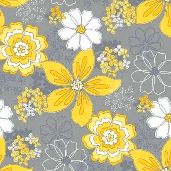 floral gray matters camelot cottons