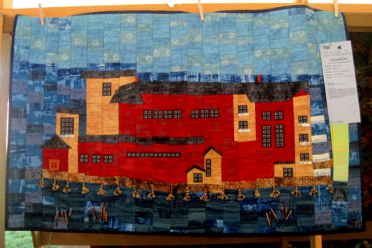 Cannery Pier Hotel, Astoria by Sarah Kaufman of Bend OR 47 x 29