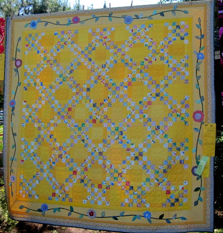 New Yellow (84 x 84) by Carol Webb of Sunriver OR