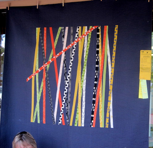 Pickup Sticks (60 x 60) by Nancy Kennedy of Portland OR