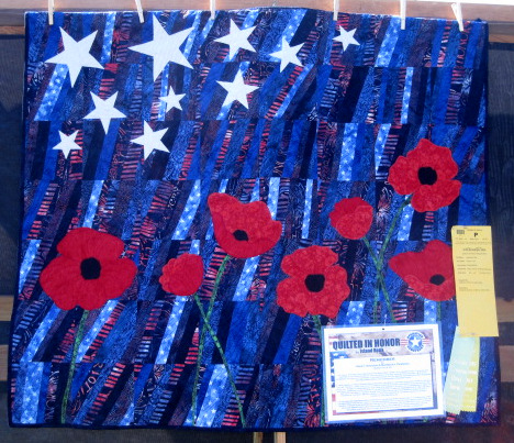 Remember (48 x 42) by Mary Hoover and Barbara Persing of Fourth and Sixth Designs