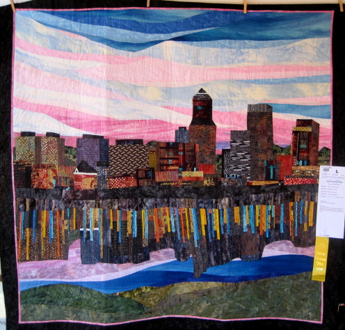 Rose City Skyline (54 x 55) by Cheryl LaRobadiere of Beaverton OR