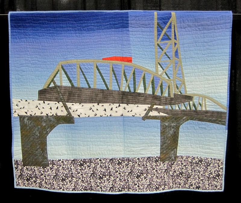 Bridge Challenge, Linda Dyer's quilt