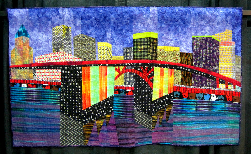 Bridge Challenge, Morrison Bridge at Night by Lisa Crnich