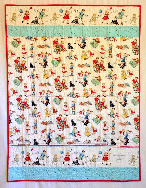 Susan's quilt,back