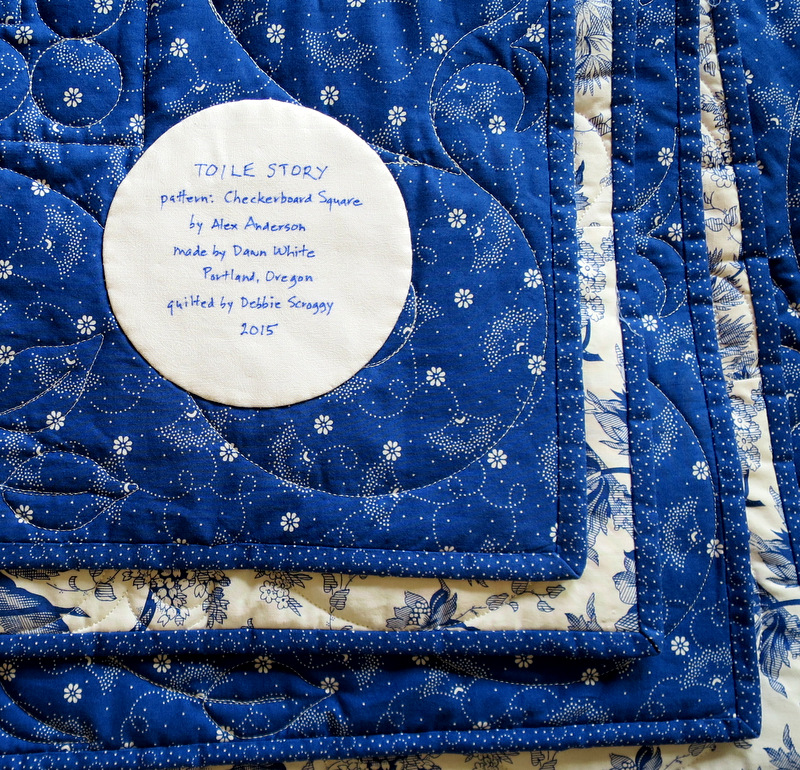 2015-2 Toile Story label