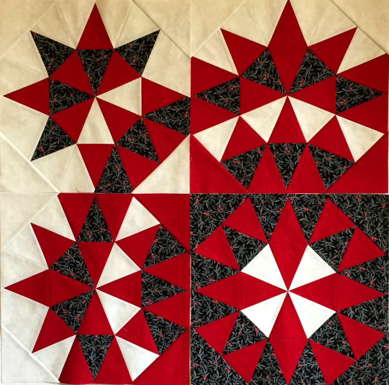 Grandma's Surprise, blocks 1,2,4,5