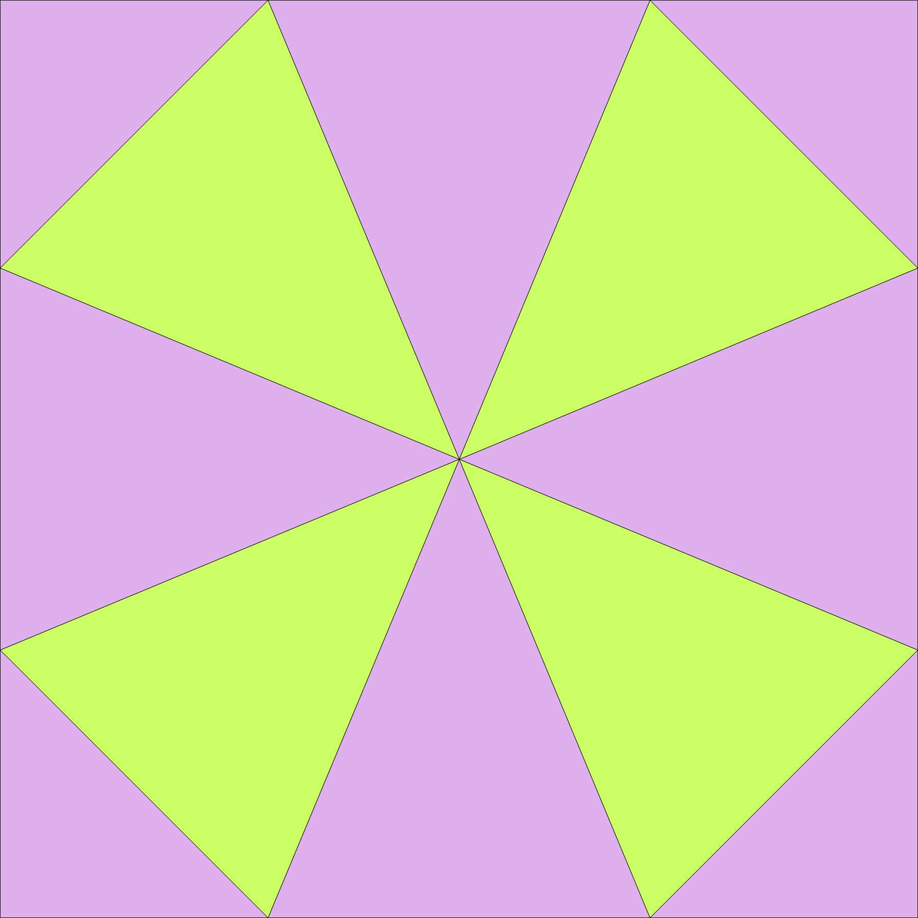 basic kaleidoscope block