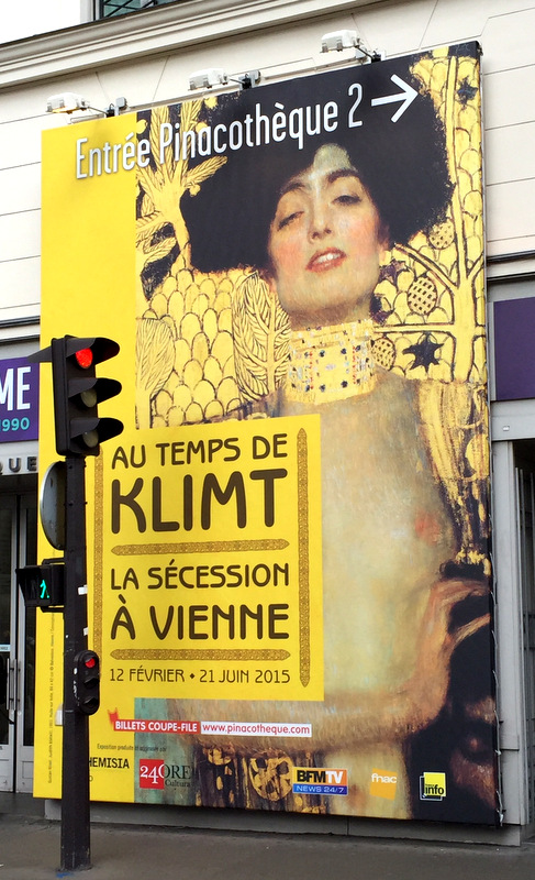 Klimt exhibit