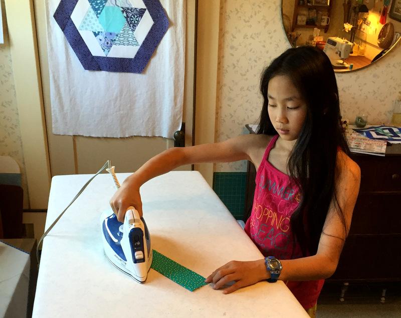 Bea ironing