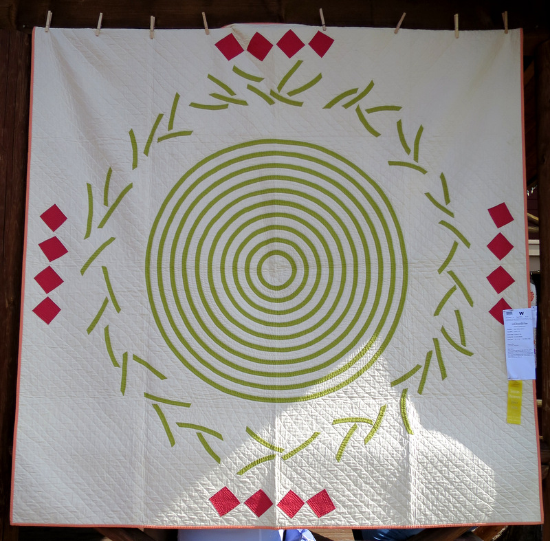 Circles of Life by Andrea Baloskey (80 in sq)