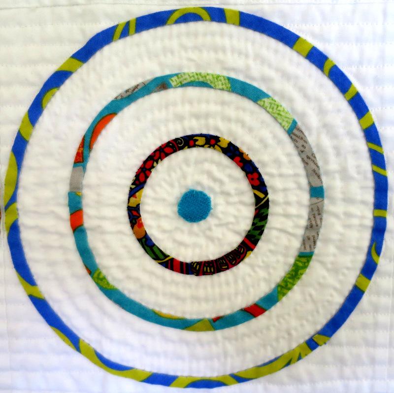 Eccenctric Circles, detail, by Tonye Philips