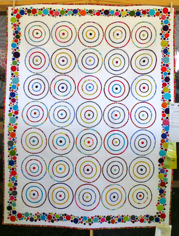 Eccentric Circles by Tonye Belinda Philips of Camp Sherman OR (51 x 67)
