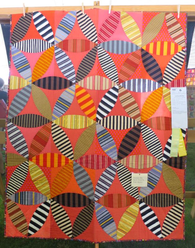 Joseph's Coat of Many Colors by Pam Goecke Dinndorf (48 x 62)