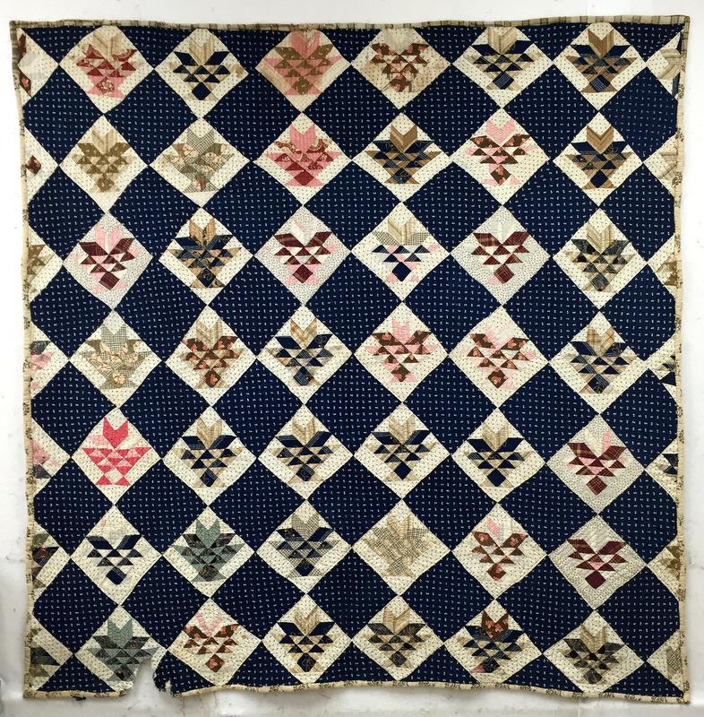 Vintage basket quilt