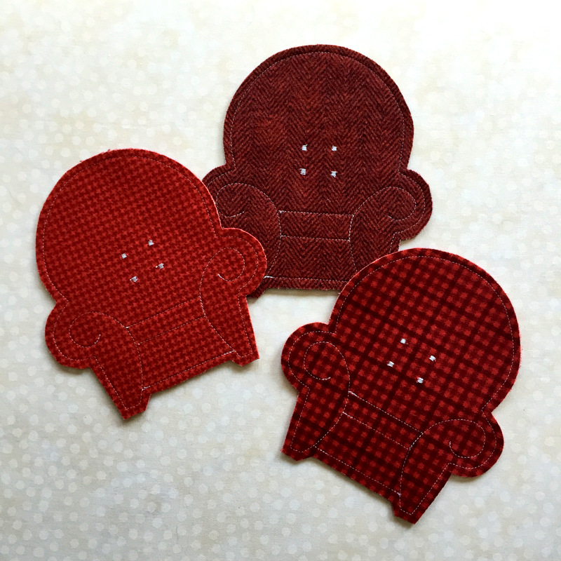 flannel coasters for TPN