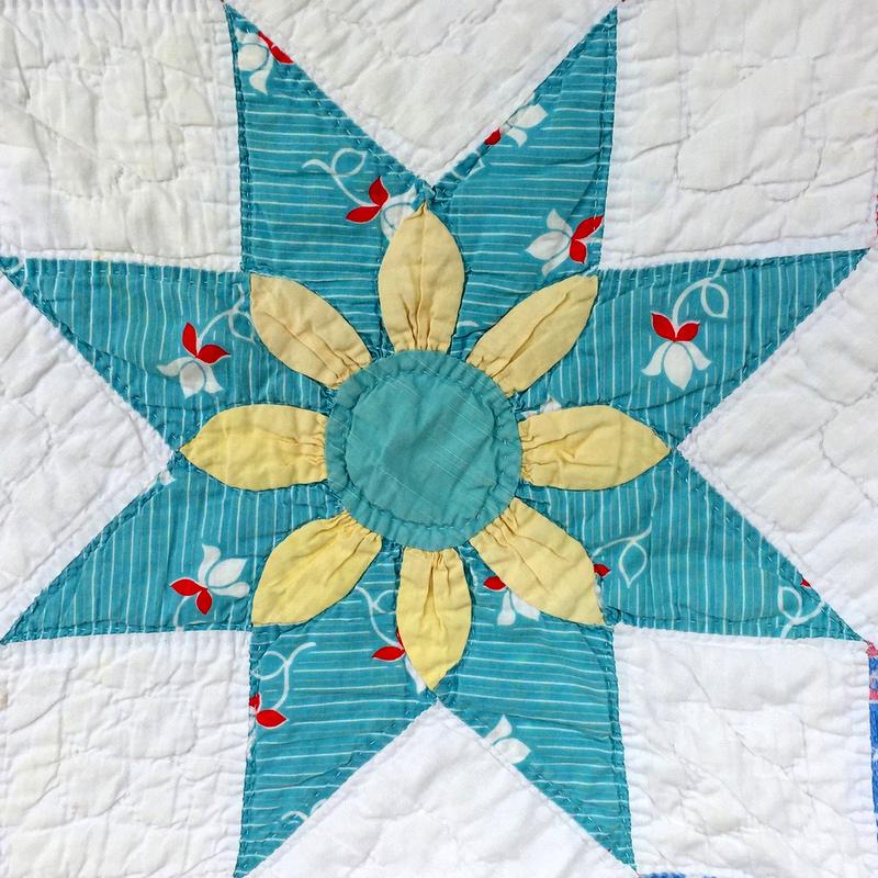 floral star block 1-001