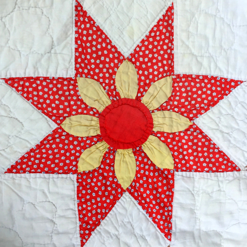 floral star block 9-001