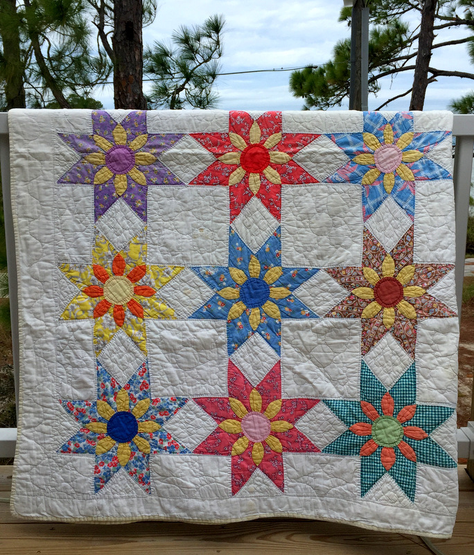 Vintage Quilts 187 First Light Designs