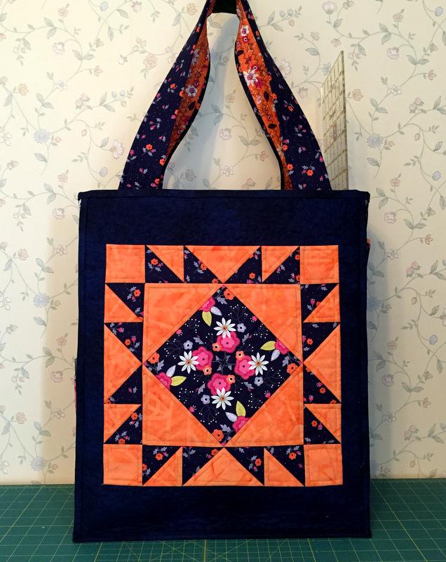 Jr Billie Bag orange side 1