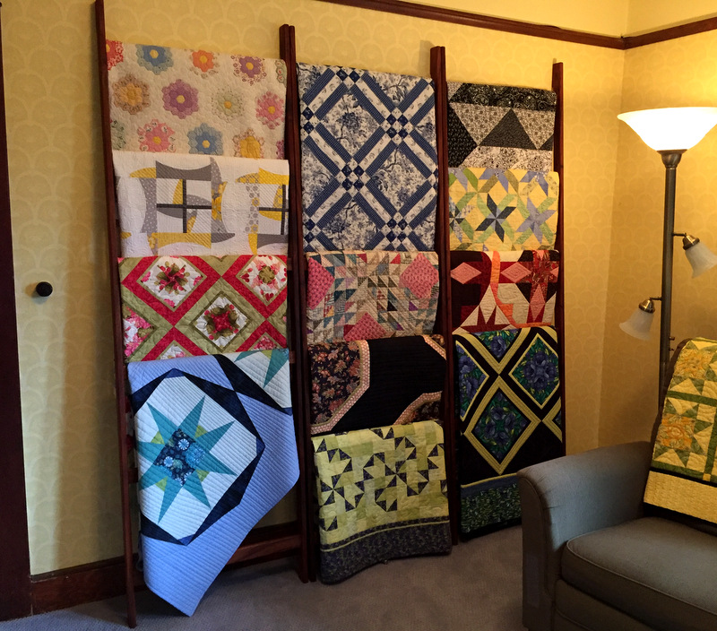 dawn's quilt wall